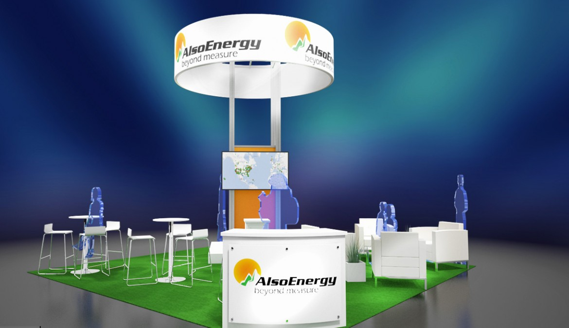 AlsoEnergy – Solar Power International 2013 Trade Show Design